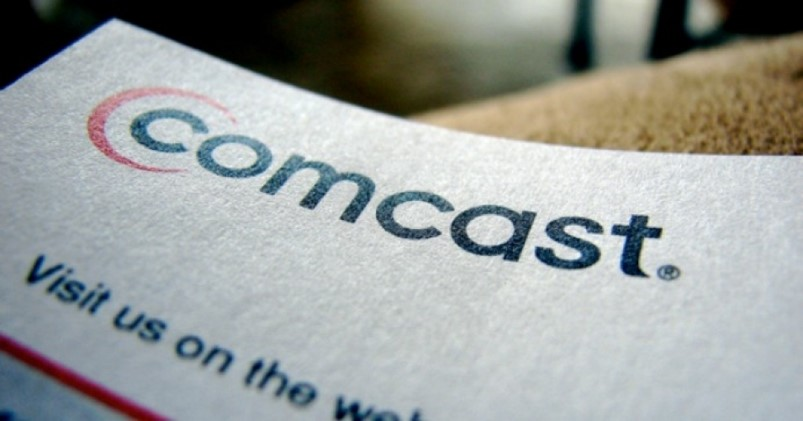 A document with the Comcast logo on it