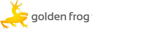 Golden Frog - Logo